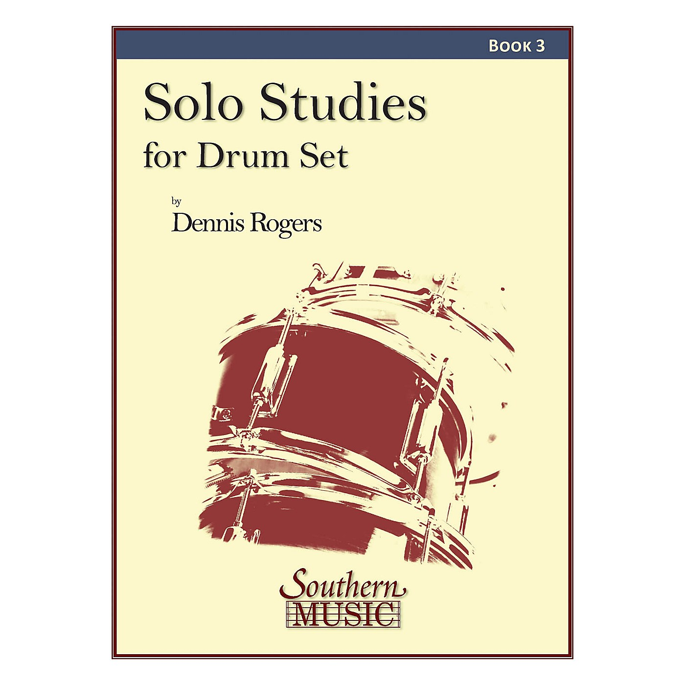 Southern Solo Studies for Drum Set, Book 3 Southern Music Series thumbnail