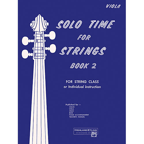 Alfred Solo Time for Strings Book 2 Viola thumbnail