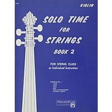 Alfred Solo Time for Strings Book 2 Violin