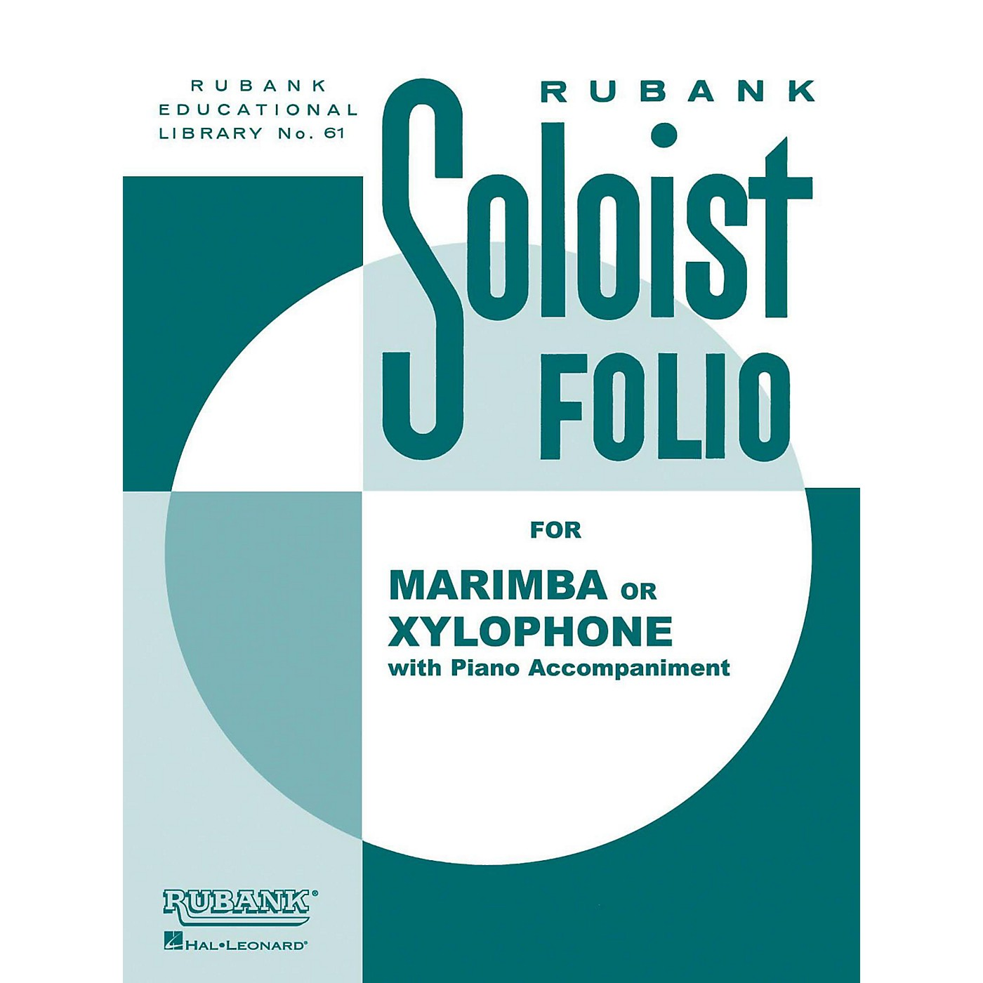 Hal Leonard Soloist Folio Xylophone Or Marimba with Piano thumbnail