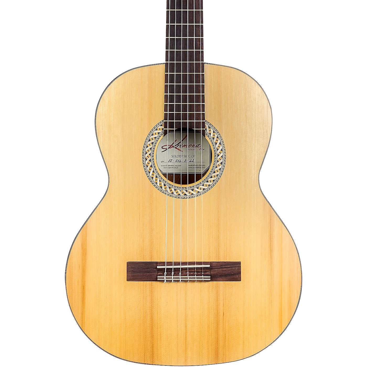 Kremona Soloist S62C Classical Acoustic Guitar thumbnail