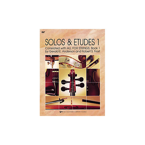 KJOS Solos And Etudes 1 All for Strings Violin Book thumbnail
