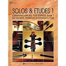 KJOS Solos And Etudes, BK1/PA ACC