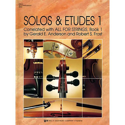 KJOS Solos And Etudes, BK1/PA ACC thumbnail
