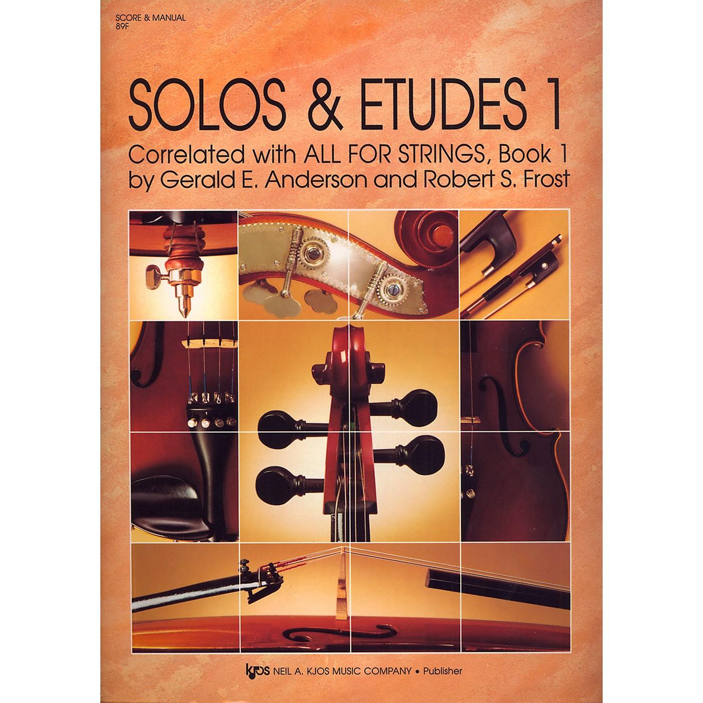KJOS Solos And Etudes, BK1/SCORE thumbnail