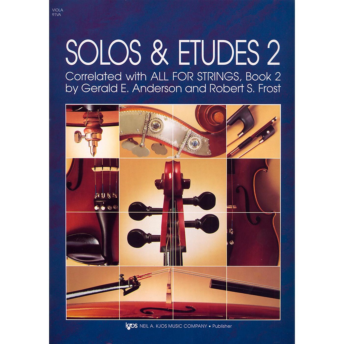 KJOS Solos And Etudes-BOOK 2/VIOLA thumbnail