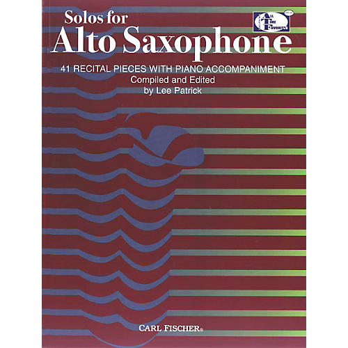 Carl Fischer Solos For Alto Saxophone Book thumbnail