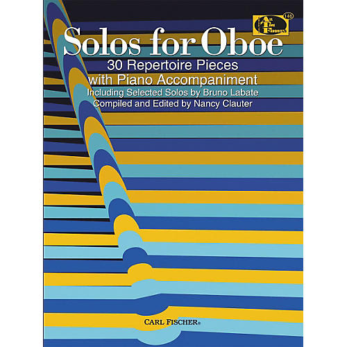 Carl Fischer Solos For Oboe Book thumbnail
