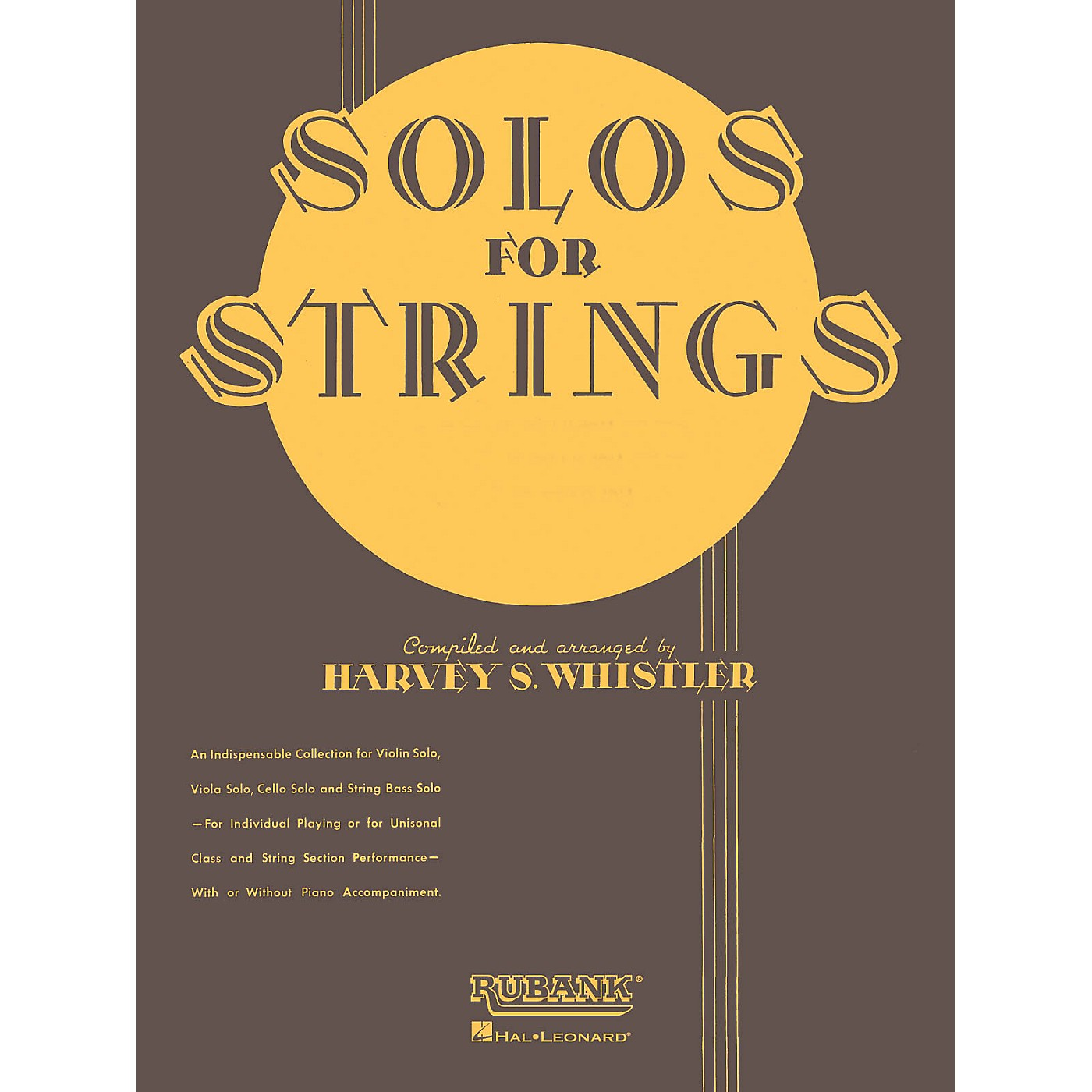 Rubank Publications Solos For Strings - String Bass Solo (1st And 2nd Positions) Rubank Solo Collection by Harvey S. Whistler thumbnail
