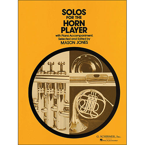 G. Schirmer Solos for Horn Player with Piano Accompaniment-thumbnail