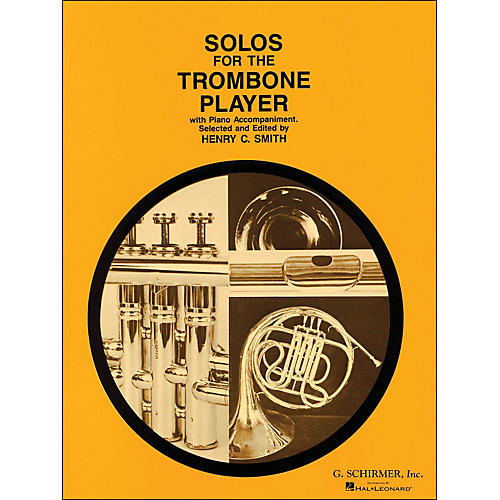 G. Schirmer Solos for The Trombone Player with Piano Accompaniment-thumbnail