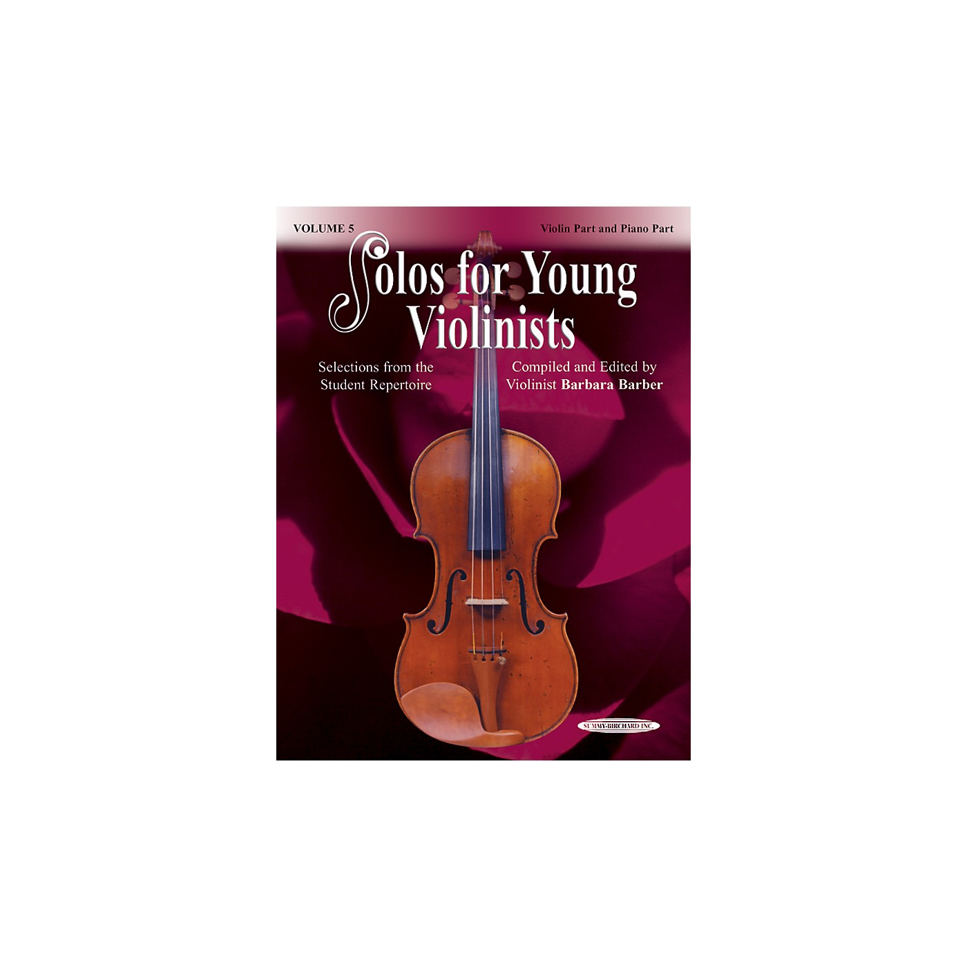 Alfred Solos for Young Violinists Violin Part and Accompaniment Vol. 5 (Book) thumbnail