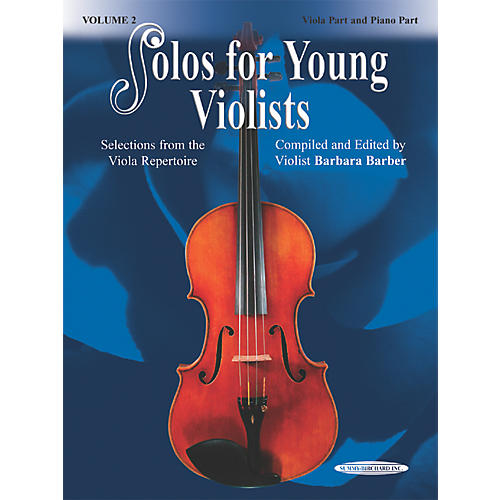 Alfred Solos for Young Violists Vol. 2 (Book) thumbnail