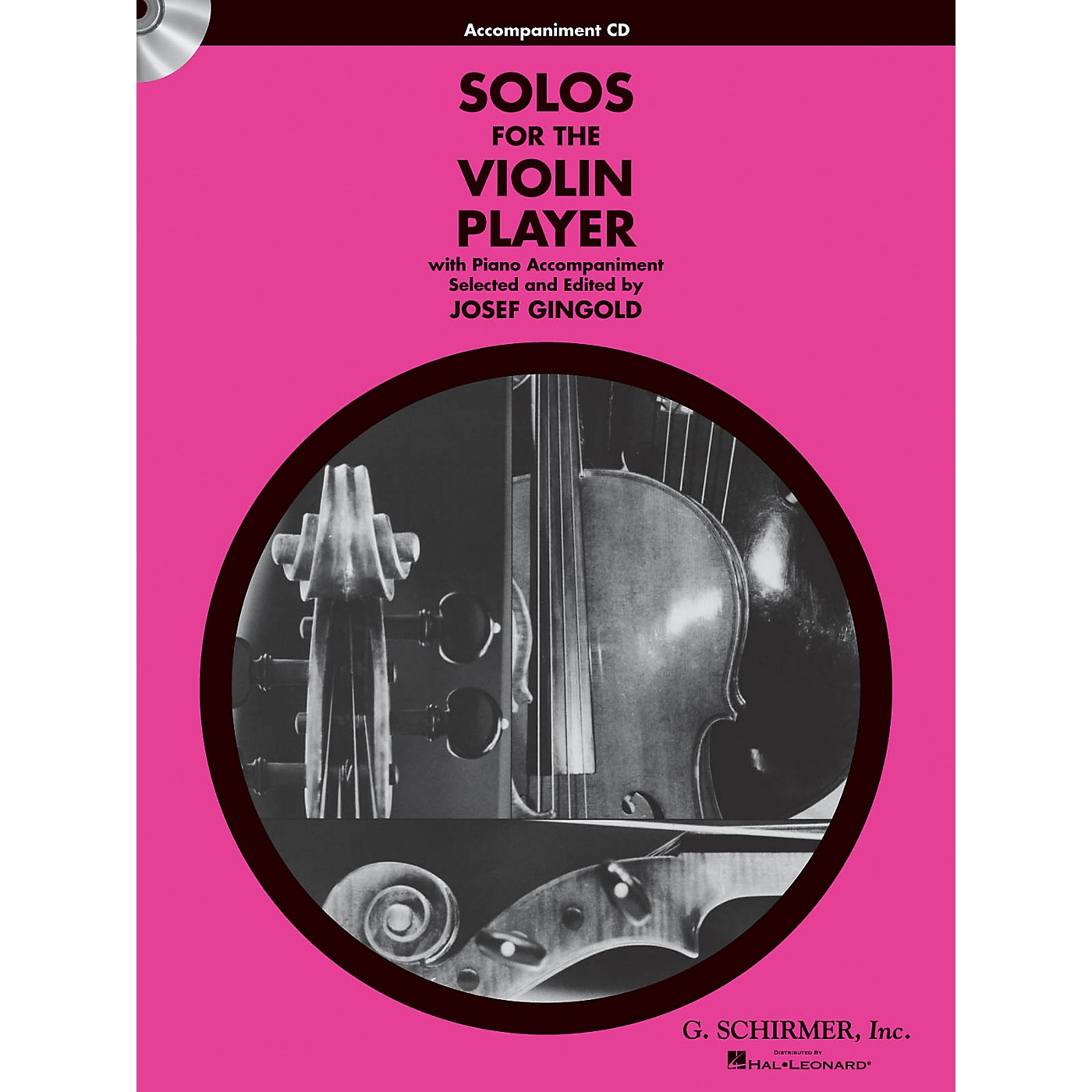 G. Schirmer Solos for the Violin Player String Solo Series CD Composed by Various Edited by J Gingold thumbnail