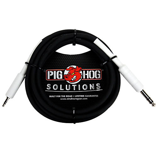 Pig Hog Solutions 1/4 TRS to 1/8 Mini Adapter Cable thumbnail