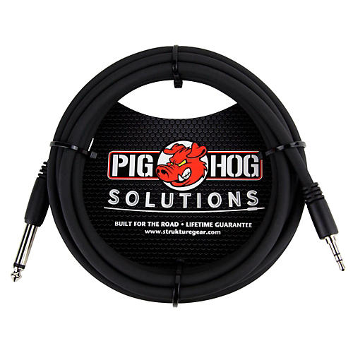 Pig Hog Solutions 3.5mm TRS to 1/4