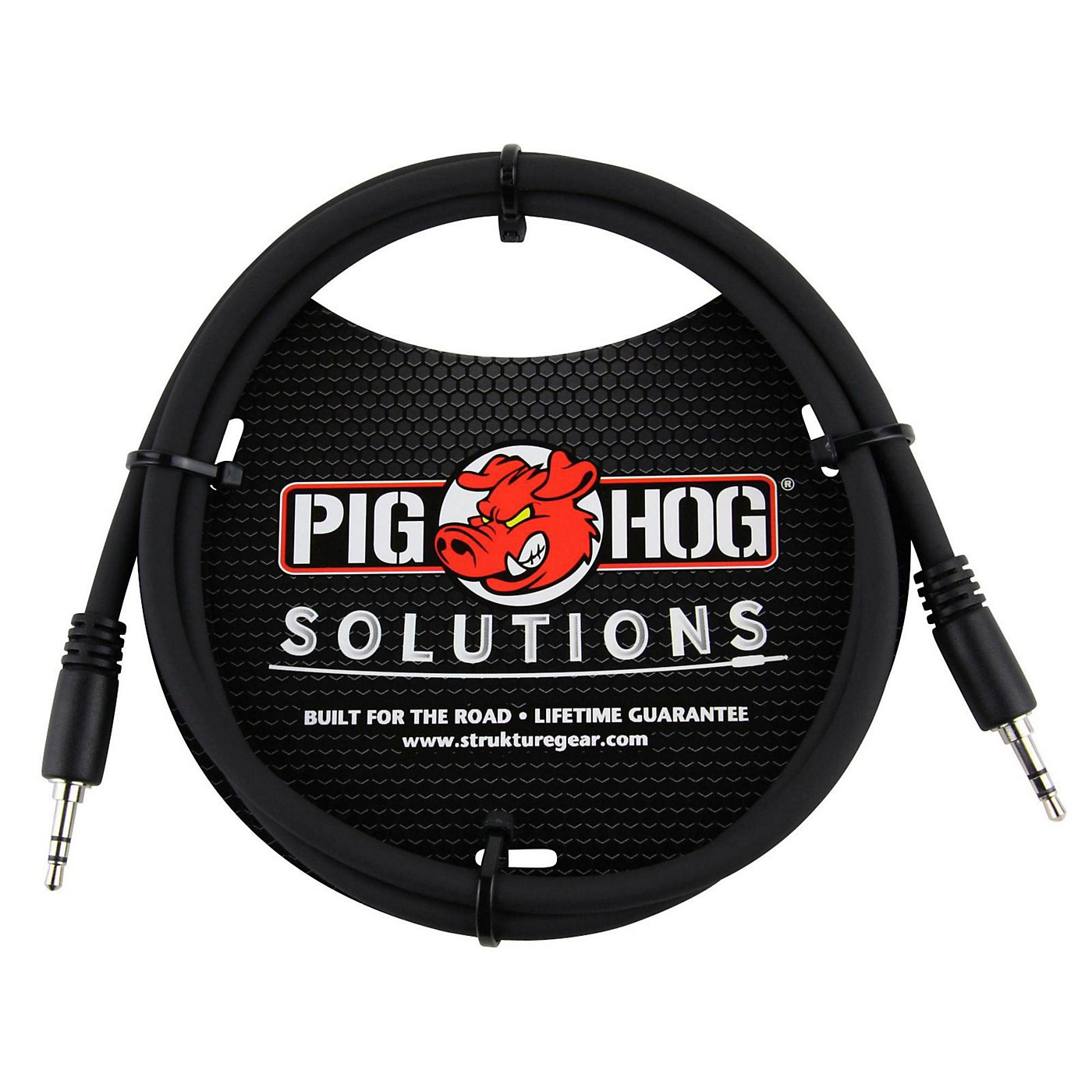 Pig Hog Solutions 3.5mm TRS to 3.5mm TRS Adapter Cable thumbnail