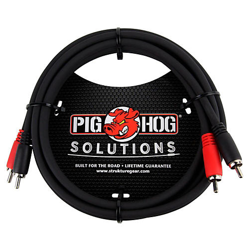 Pig Hog Solutions Dual Cable RCA to RCA (3 ft.) thumbnail