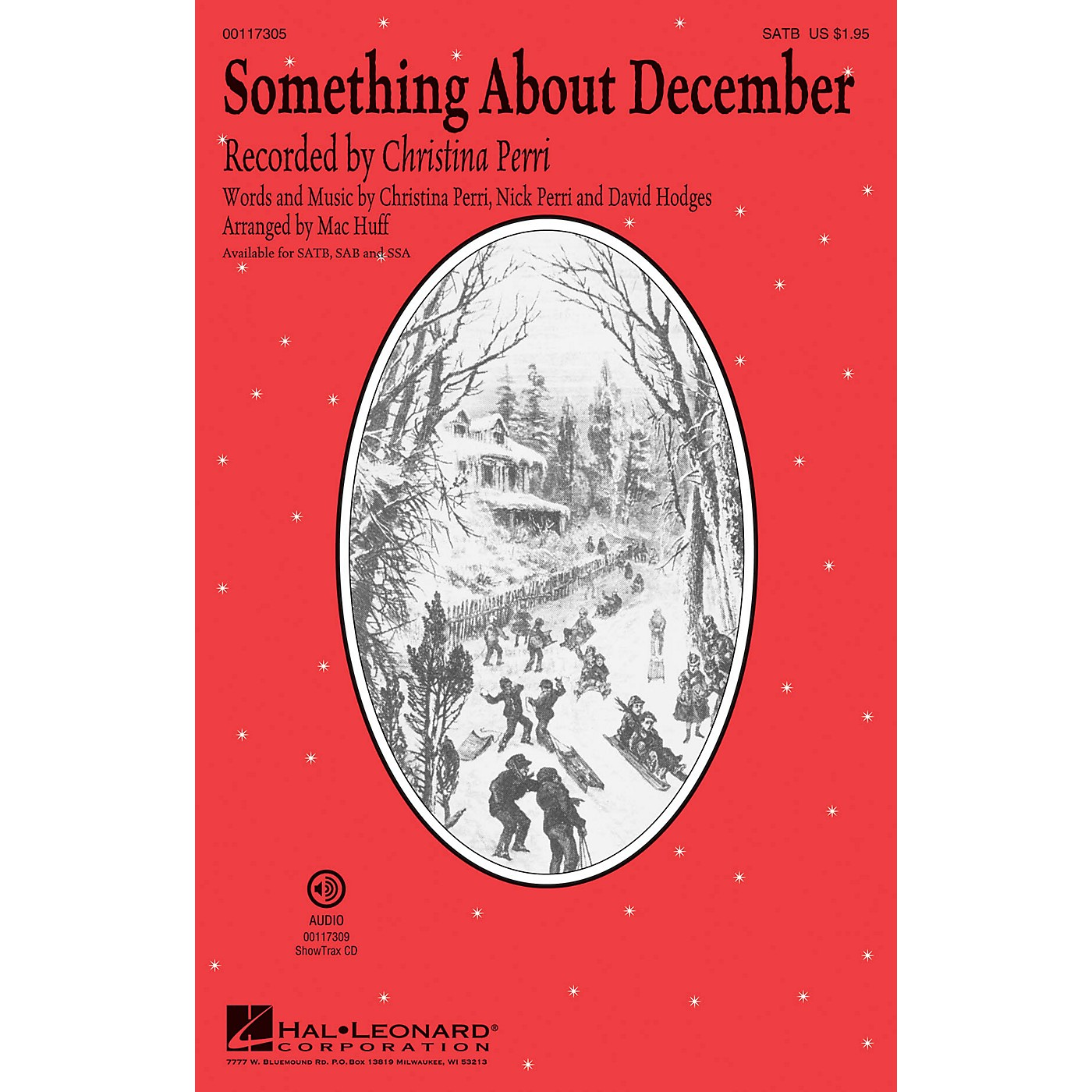 Hal Leonard Something About December SSA by Christina Perri Arranged by Mac Huff thumbnail