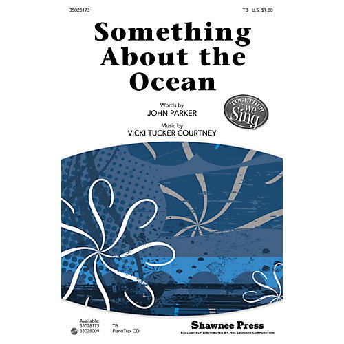 Shawnee Press Something About the Ocean (Together We Sing Series) TB composed by John Parker thumbnail