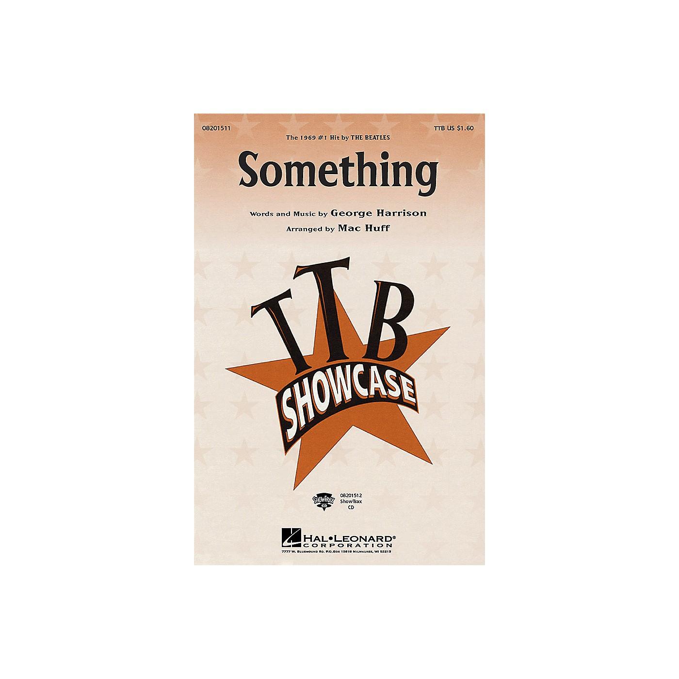 Hal Leonard Something TTB by The Beatles arranged by Mac Huff thumbnail
