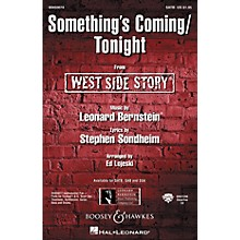 Hal Leonard Something's Coming/Tonight (from West Side Story) Arranged by Ed Lojeski