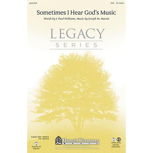 Shawnee Press Sometimes I Hear God's Music SSA composed by Joseph M. Martin thumbnail