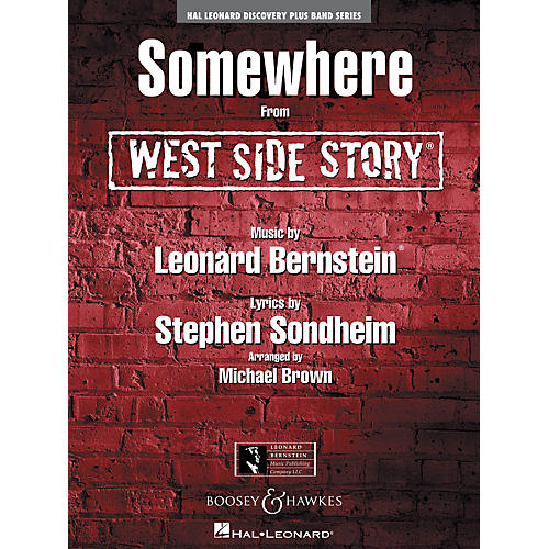 Hal Leonard Somewhere (From West Side Story) - Discovery Plus! Band Series Level 2 thumbnail