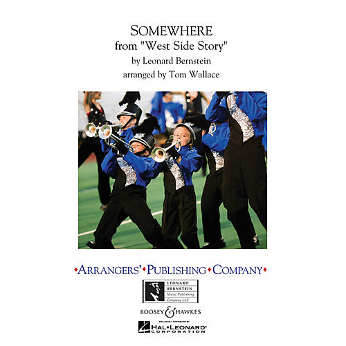 Arrangers Somewhere Marching Band Level 3 Arranged by Tom Wallace thumbnail
