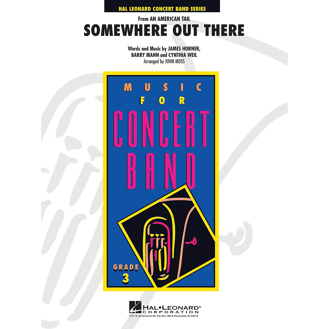 Hal Leonard Somewhere Out There (from An American Tail) - Young Concert Band Level 3 by John Moss thumbnail
