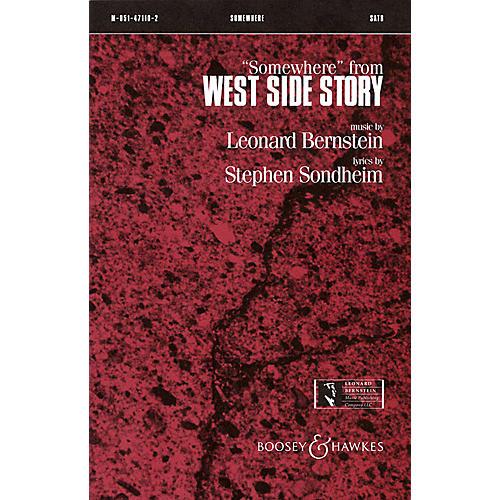 Leonard Bernstein Music Somewhere (from West Side Story) SSA Arranged by William Jonson thumbnail