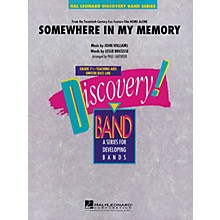 Hal Leonard Somewhere in My Memory (from HOME ALONE) Concert Band Level 1.5 Arranged by Paul Lavender