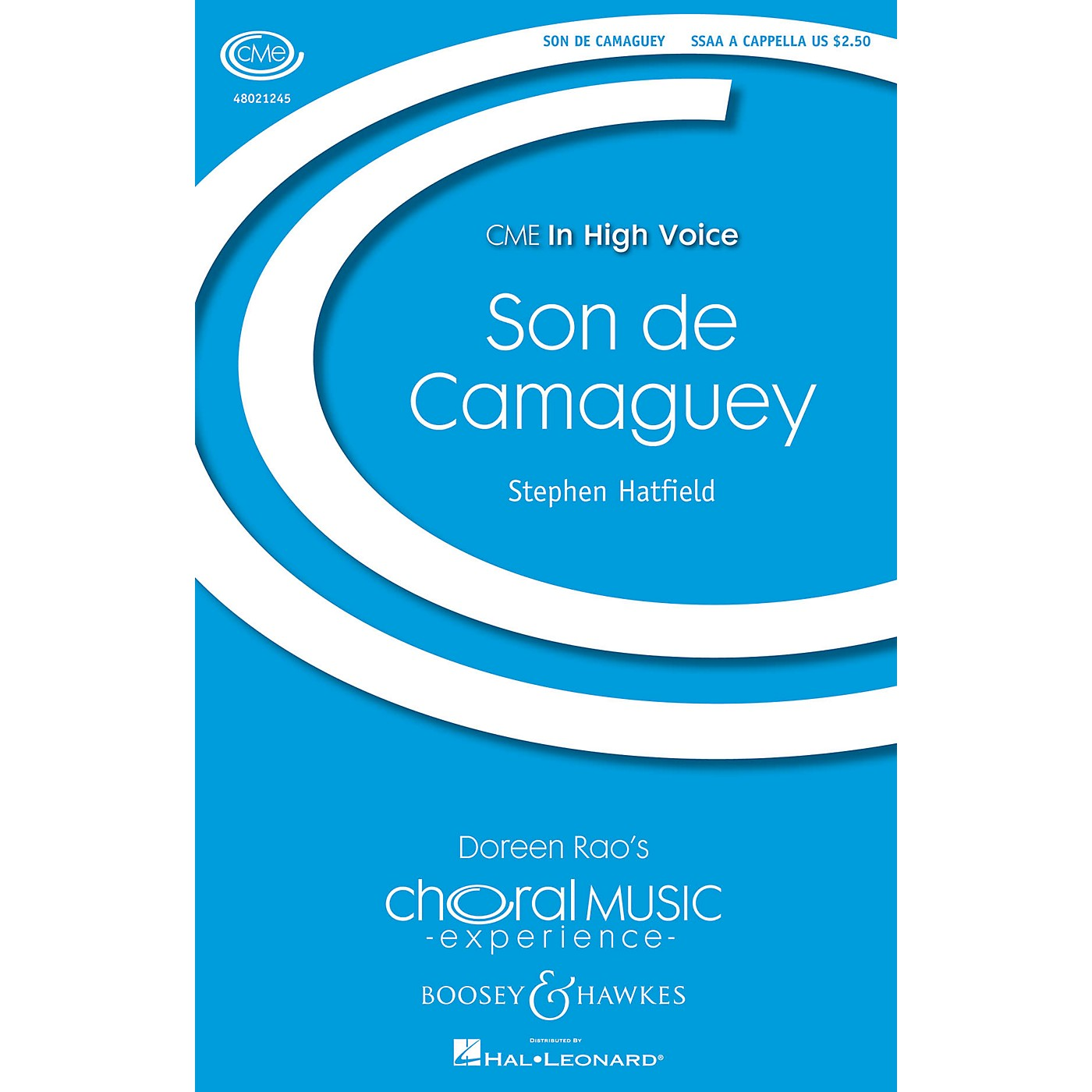 Boosey and Hawkes Son de Camaguey (CME In High Voice) SSAA A Cappella composed by Stephen Hatfield thumbnail