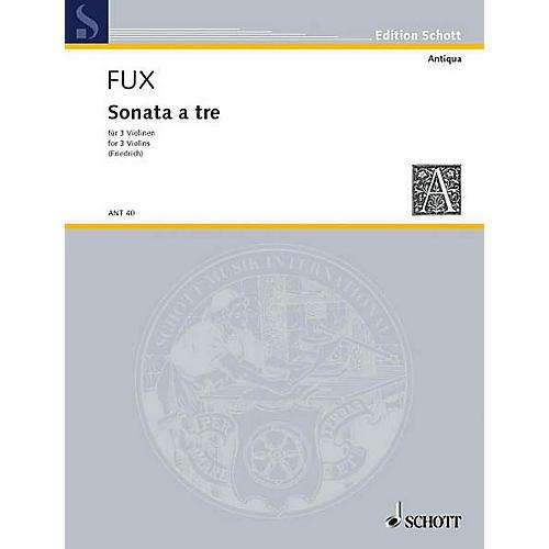 Schott Sonata A 3 3 Vn Parts Schott Series thumbnail