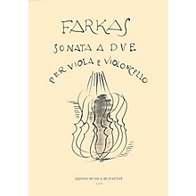 Editio Musica Budapest Sonata A Due-vla/vcl EMB Series by Ferenc Farkas
