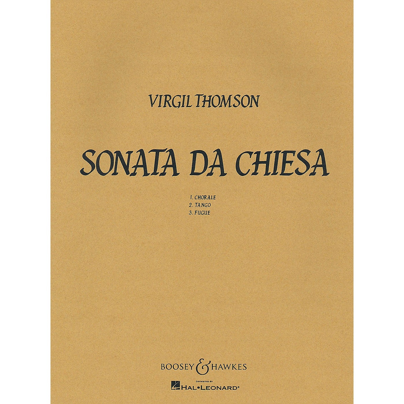 Boosey and Hawkes Sonata Da Chiesa Boosey & Hawkes Chamber Music Series by Virgil Thomson thumbnail