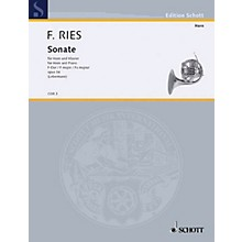 Schott Sonata F Major Op. 34 (Horn and Piano) Schott Series
