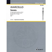 Hal Leonard Sonata For Treble Recorder And Basso Continuo Op 2 No 7 Woodwind Ensemble Series