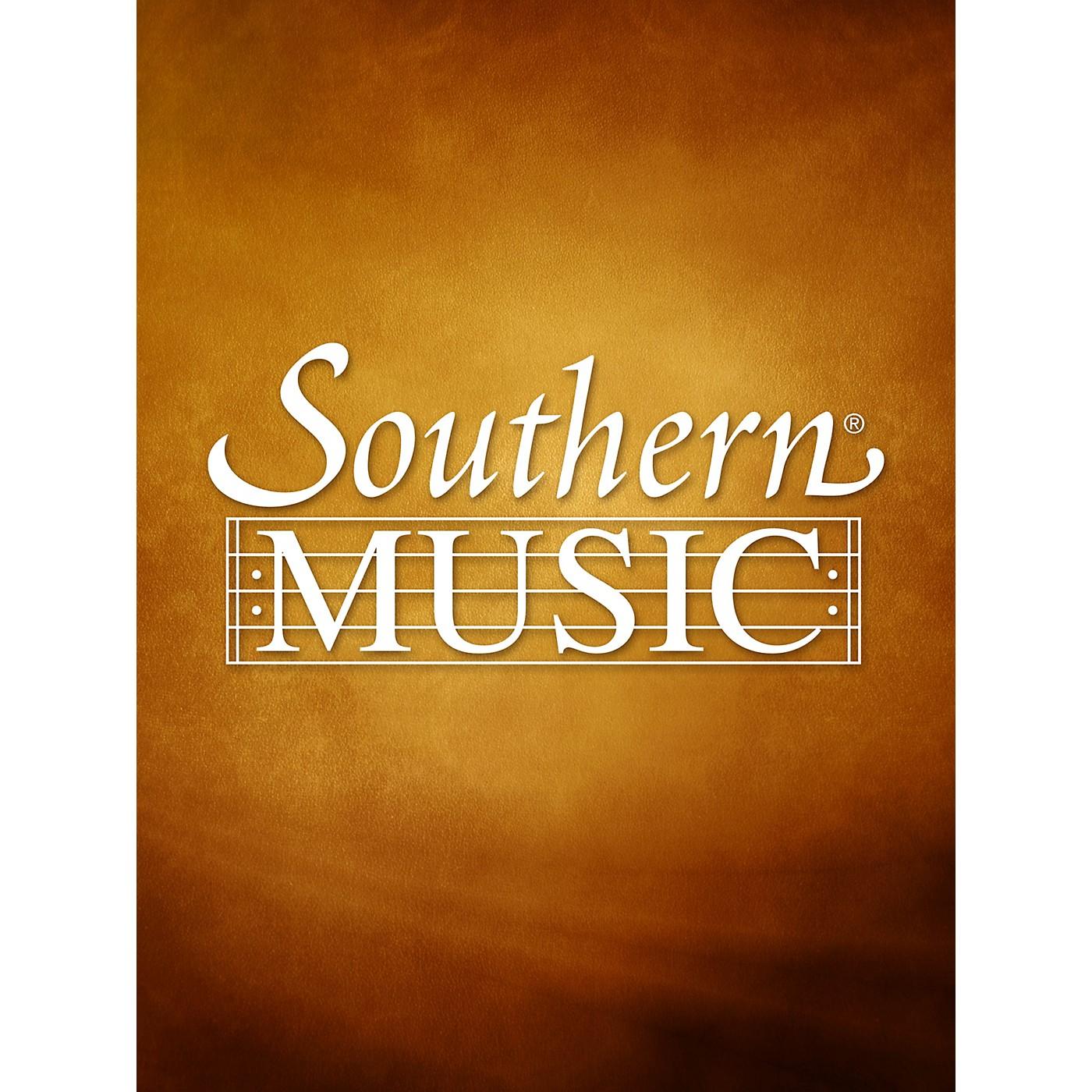 Southern Sonata No. 1 (1989) (Alto Sax) Southern Music Series  by Charles W. Smith thumbnail