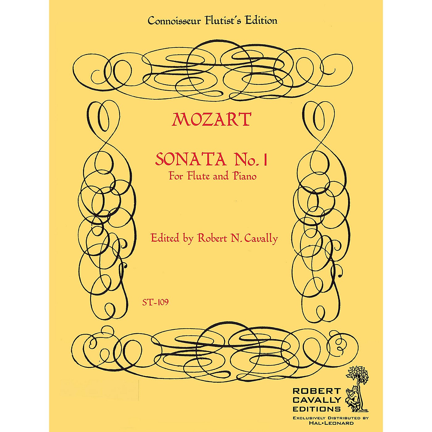 Cavally Editions Sonata No. 1 in Bb (Connoisseur Flutist's Edition) Robert Cavally Editions Series by Robert Cavally thumbnail