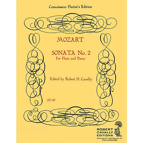 Hal Leonard Sonata No. 2 in G (Connoisseur Flutist's Edition) Robert Cavally Editions Series by Robert Cavally thumbnail