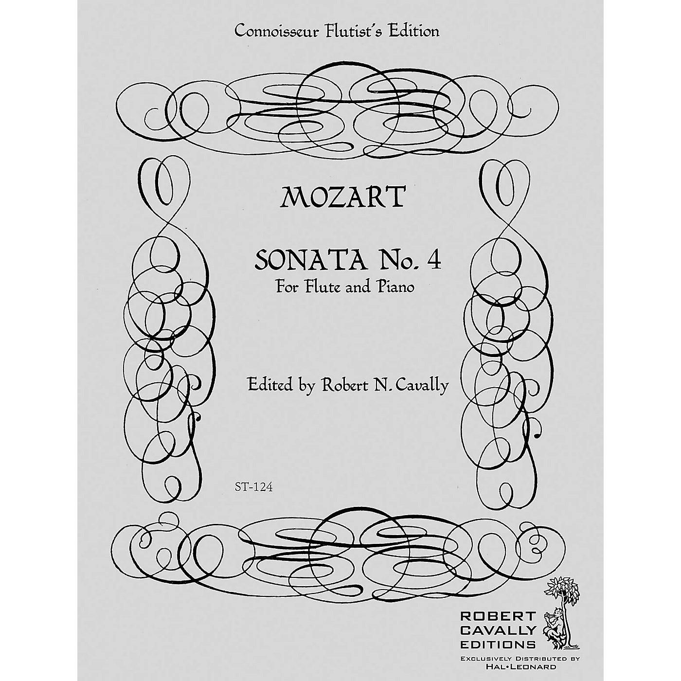 Cavally Editions Sonata No. 4 in F (Connoisseur Flutist's Edition) Robert Cavally Editions Series by Robert Cavally thumbnail