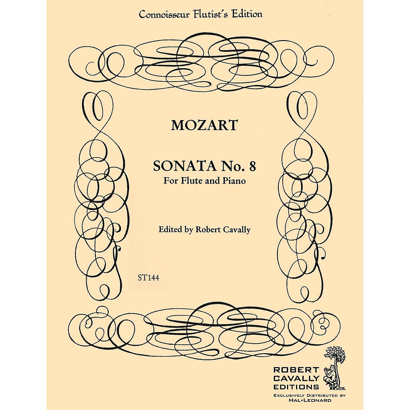 Cavally Editions Sonata No. 8 in F (Connoisseur Flutist's Edition) Robert Cavally Editions Series by Robert Cavally thumbnail
