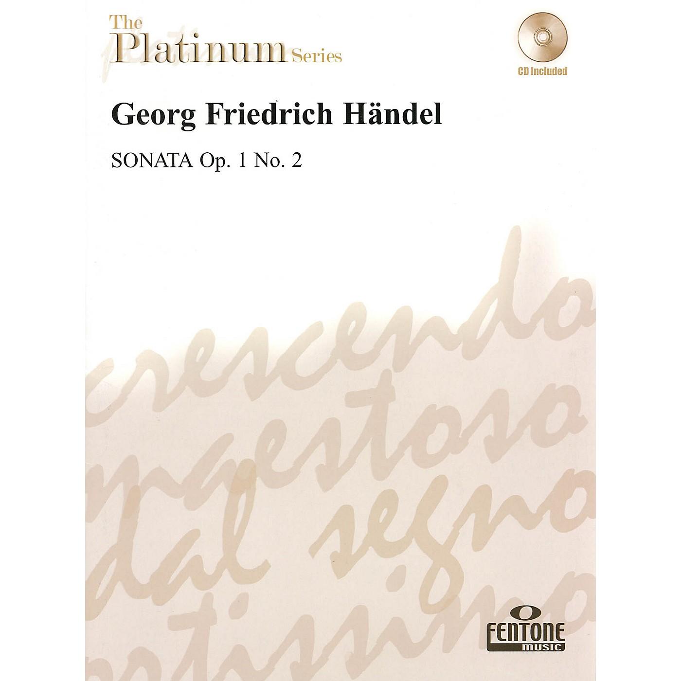 Fentone Sonata Op. 1 No. 2 Fentone Instrumental Books Series Book with CD thumbnail