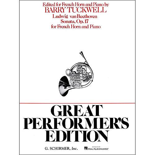G. Schirmer Sonata Op17 F Hrn/Pno Great Performers Edition thumbnail