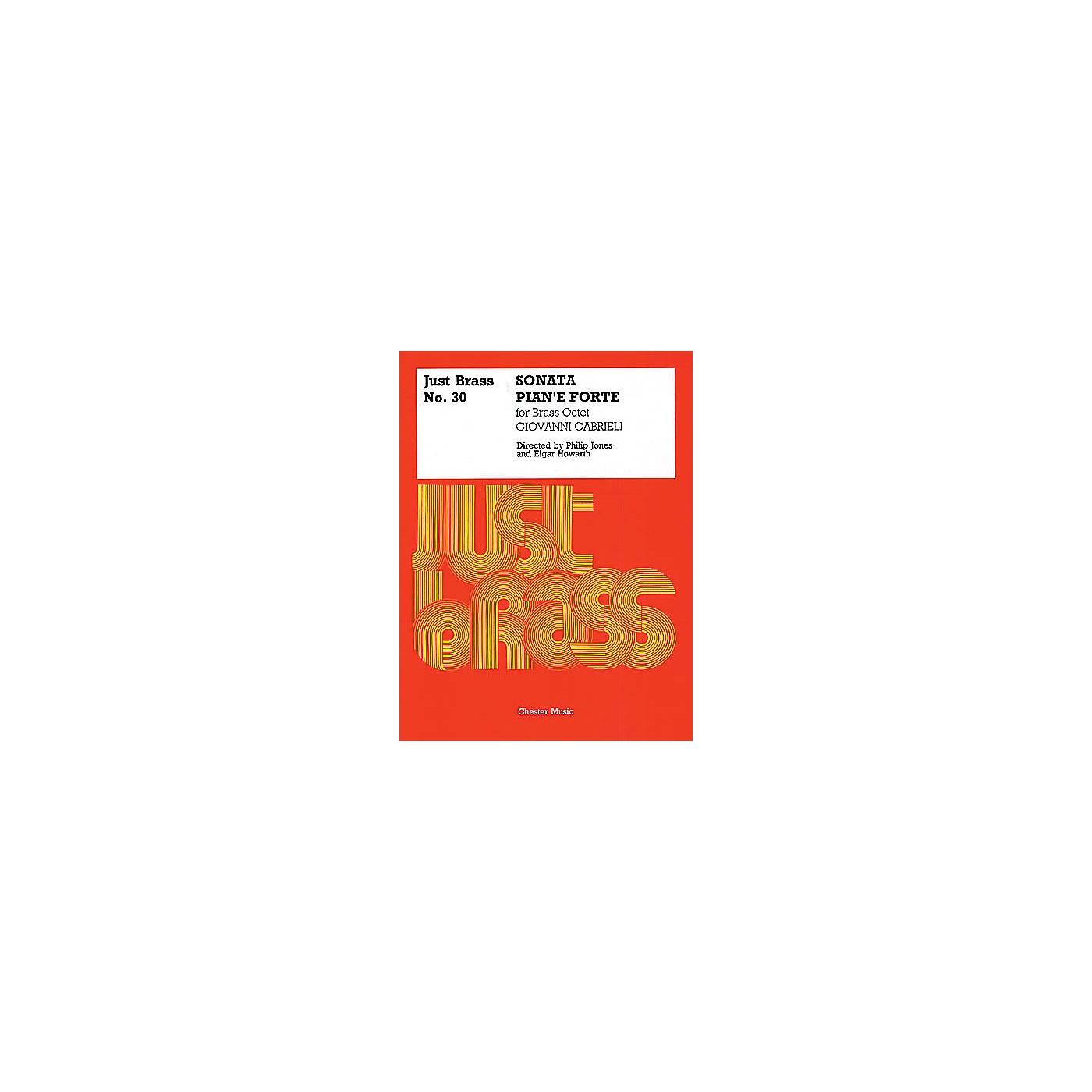 Chester Music Sonata Pian'e Forte (Just Brass No. 30) Music Sales America Series by Giovanni Gabrieli thumbnail