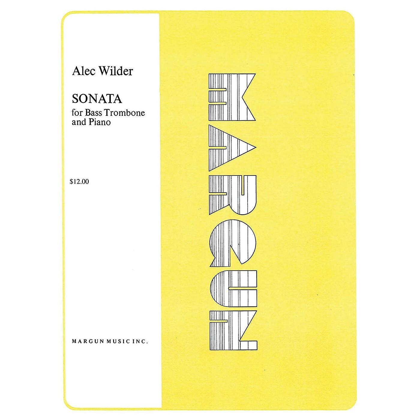 Margun Music Sonata for Bass Trombone and Piano Shawnee Press Series thumbnail