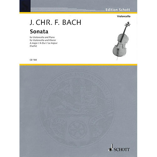 Schott Sonata for Cello and Piano in A Major String Series thumbnail