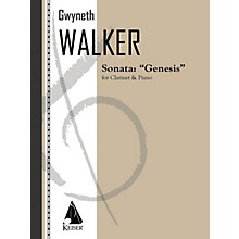 Lauren Keiser Music Publishing Sonata for Clarinet and Piano: Genesis LKM Music Series Composed by Gwyneth Walker