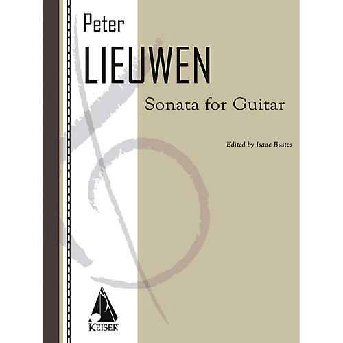 Lauren Keiser Music Publishing Sonata for Guitar LKM Music Series Composed by Peter Lieuwen thumbnail